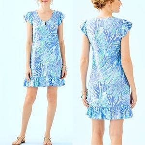 Lilly Pulitzer Rejina Dress - Hey Hey Soliel